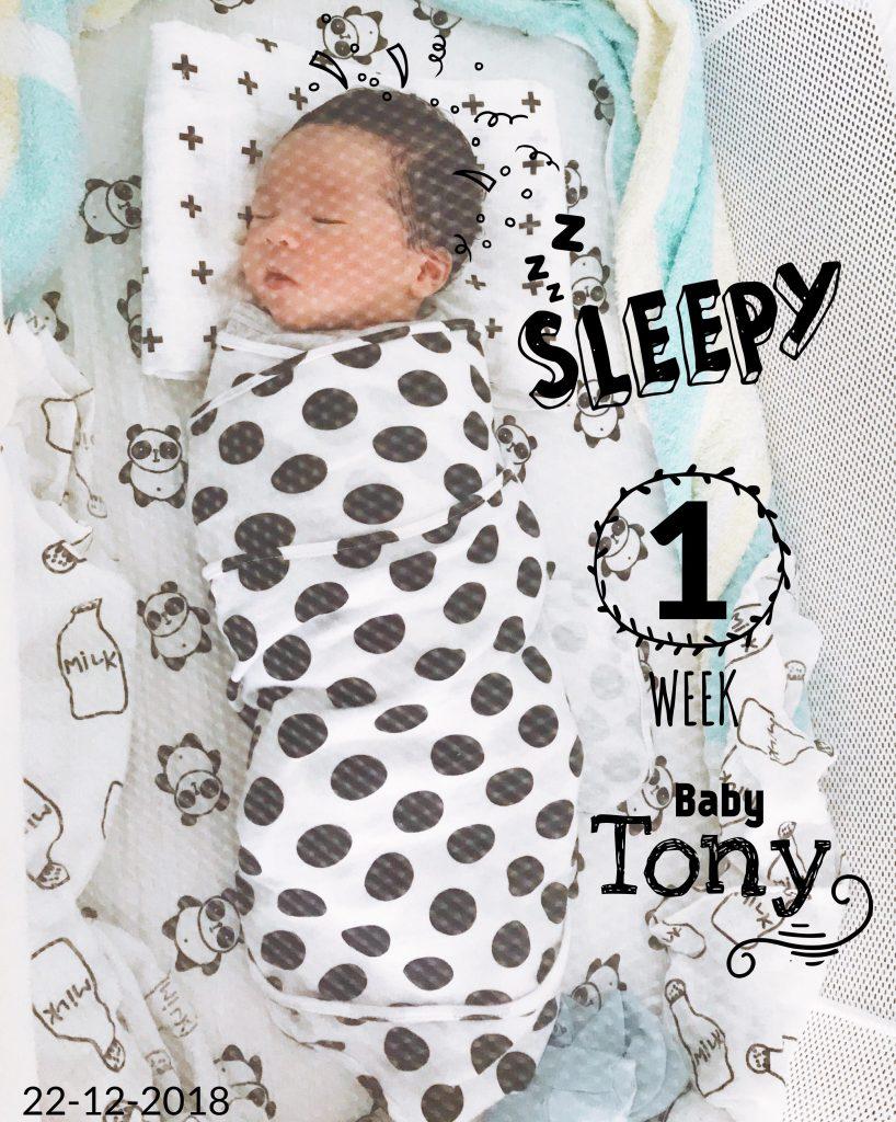 4 tuần đầu đời của bé 2