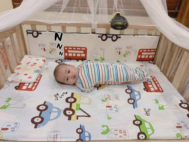 Bé sinh đôi tự ngủ như thế nào? Chuyện nhà mẹ Vân Anh 6